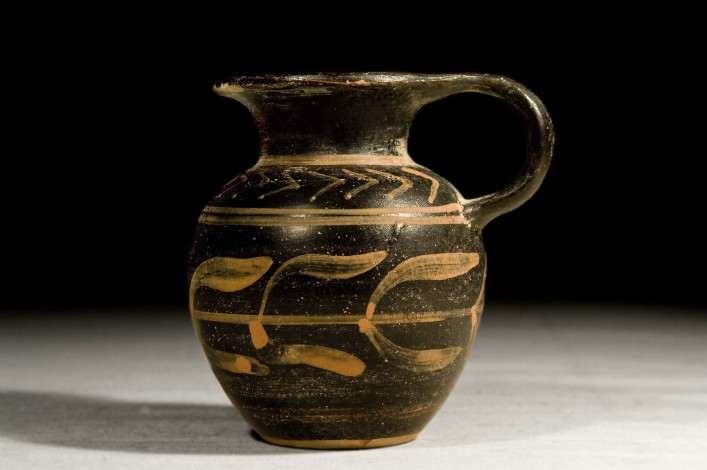 A Greek Apulian Oinochoe