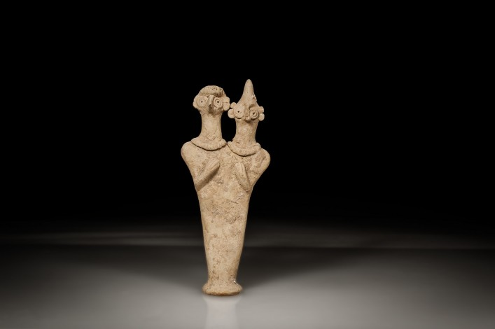 Syro-Hittite Double Headed Figurine