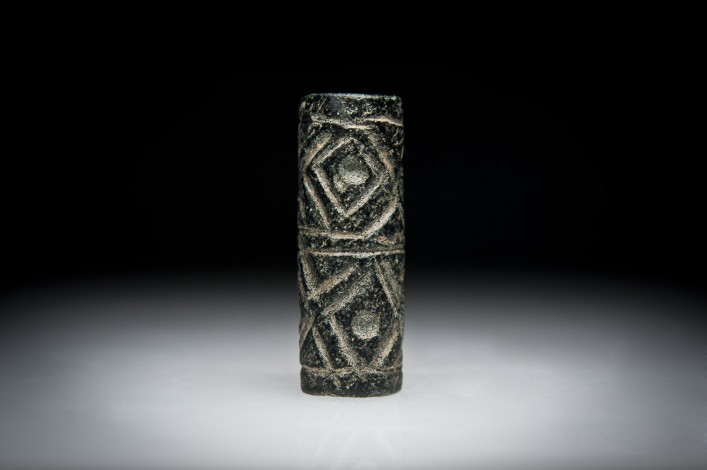 A Pre-Dynastic Andesite Cylinder Seal