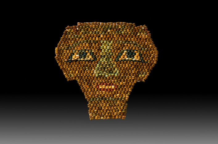 An Egyptian Beaded Mask