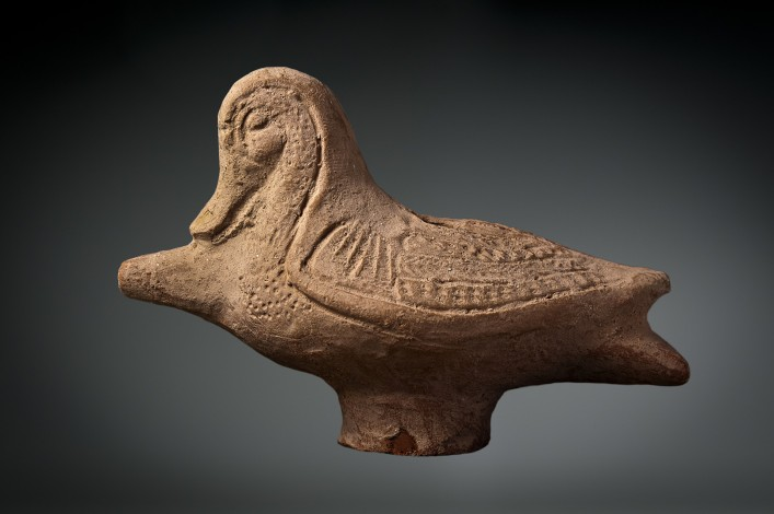 A Ceramic Oil Filler in the Form of a Duck