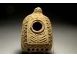 A Byzantine Ceramic Multi Nozzle Oil Lamp