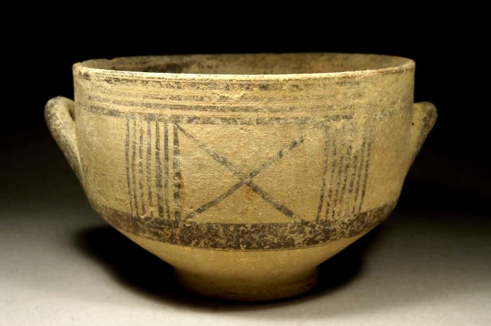 A Cypriot Hellenic Bowl of Earlier White Ware