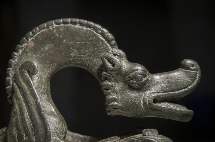 Parthian Bronze Incense Burner