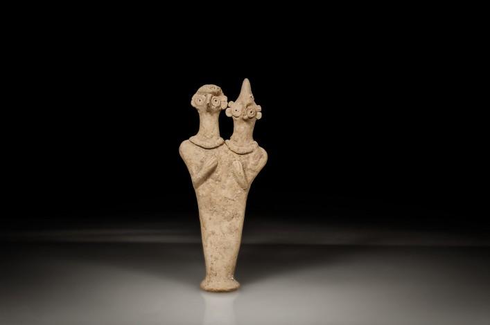 Syro-Hittite Double Headed Figurine