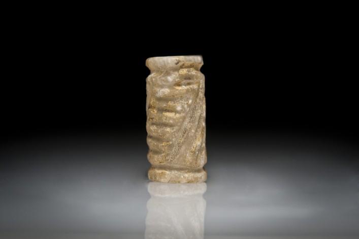 A Pre-Dynastic Alabaster Cylinder Seal