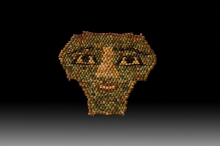 An Egyptian Beaded Mask