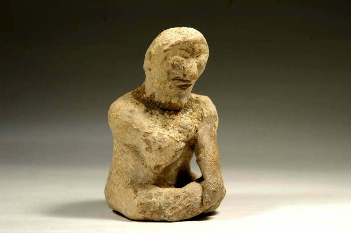 A Phoenician Figure of a Seated Worshiper
