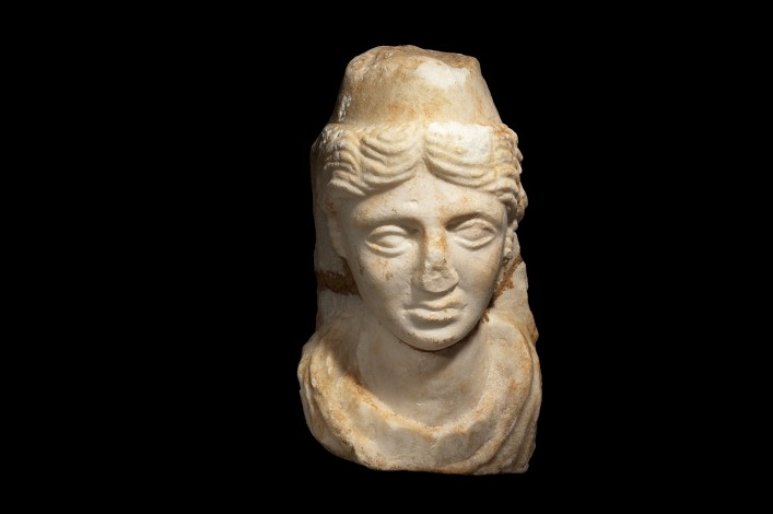 Greek Marble Bust of a Female