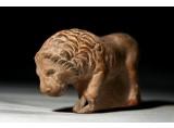 A Hellenistic Terracotta Advancing Lion