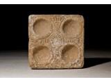 A Roman Limestone Cosmetic Palette